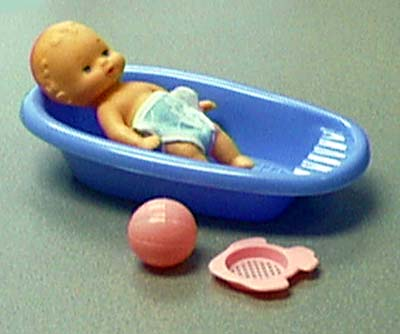 Picture of Bathtub Baby Doll Set