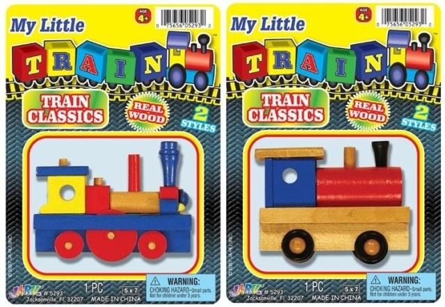 Picture of Recalled Train Toys