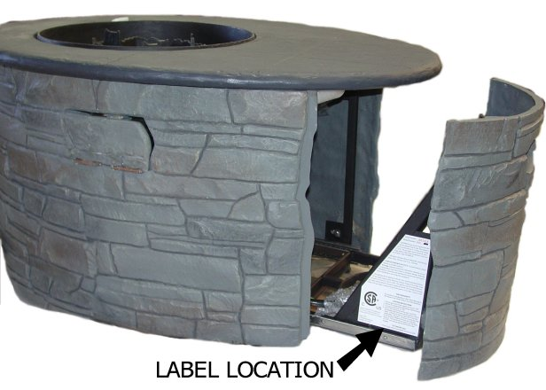 Picture of Gas Fire Pit