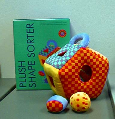 Plush Shape Sorter