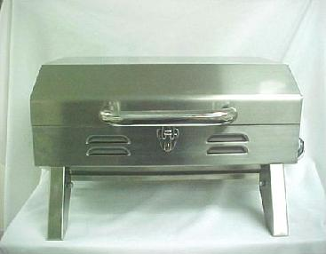 Picture of Gas Grill with Recalled Pressure Regulator