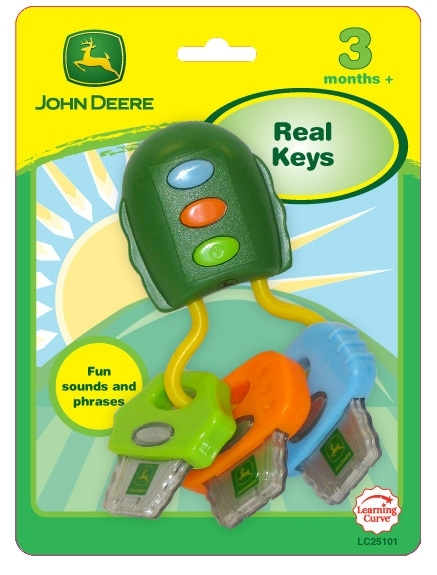 Picture of Recalled John Deere Toy Keys