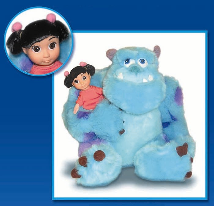 Picture of recalled Sulley with Boo doll