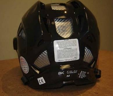Picture of Recalled Hockey Helmet