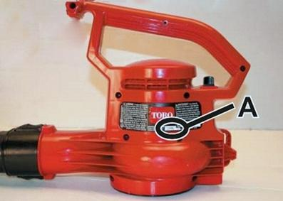 Picture of Recalled Electric Blower