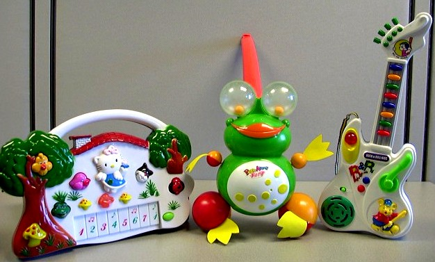 Picture of Push and Electronic Toy