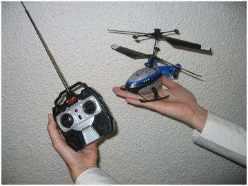 Picture of Recalled Remote Control Toy Helicopter