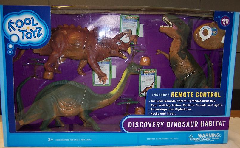 Picture of Recalled Discovery Dinosaur Habitat