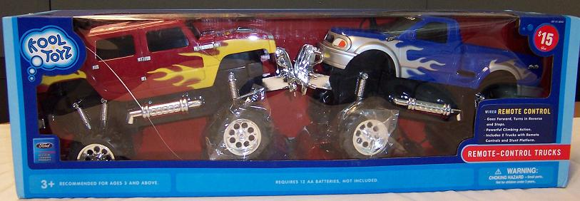 Picture of Recalled Remote Control Trucks
