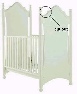 Picture of Recalled Molly Crib
