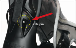 Picture of Recalled Snowboard Binding