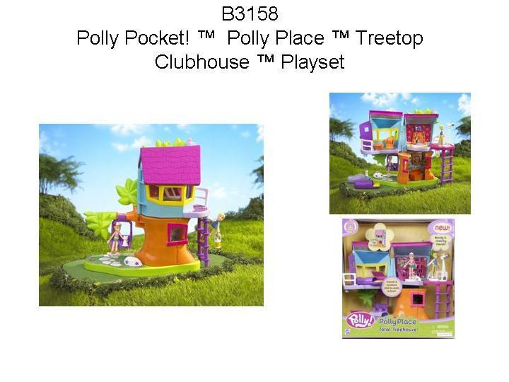 Picture of Recalled Polly Pocket! Polly Place Treetop Clubhouse