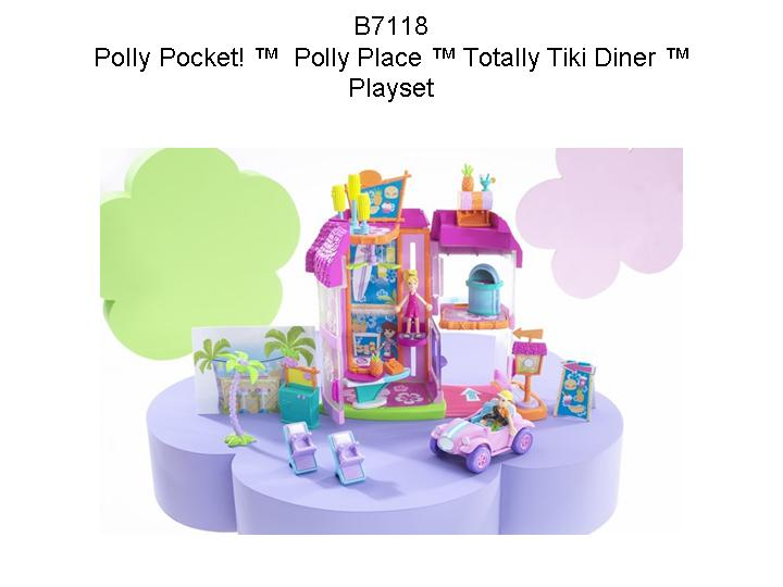 Picture of Recalled Polly Totally! Polly Place Totally Tiki Diner