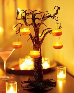 Black Wire Halloween Tree