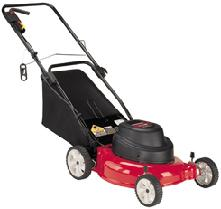 Picture of Recalled Grass Bag Used On Electric Lawn Mowers
