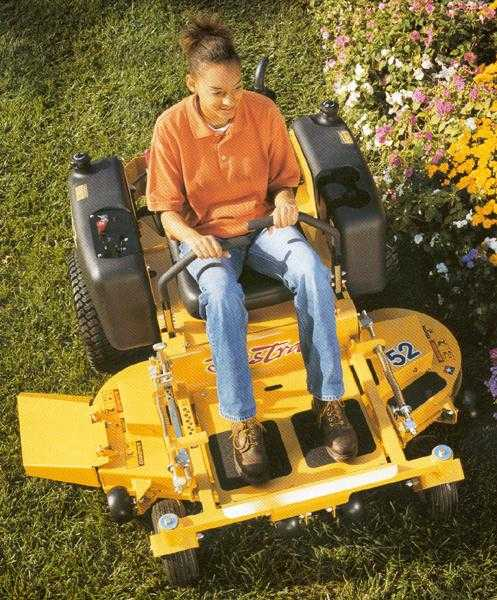 Picture of Recalled Riding Lawn Mower