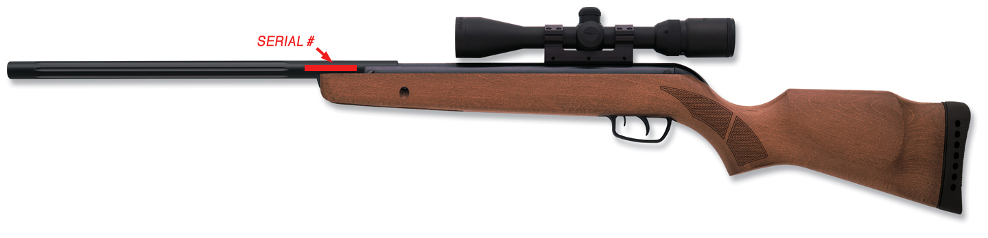 Picture of Recalled Hunter Pro Air Rifle