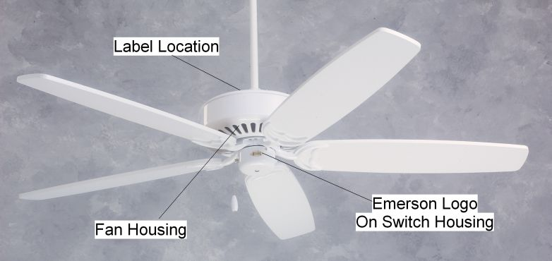 Fan Blade Inuries : Emerson electric co recalls ceiling fans for injury