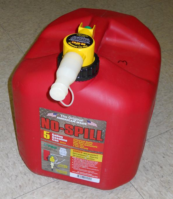 Picture of Recalled Gas Can