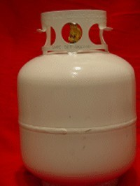 Picture of Recalled Gas Cylinder