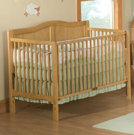 Picture of Recalled 3 -1 Heritage Crib - Natural Model # DA0504KMC-1N
