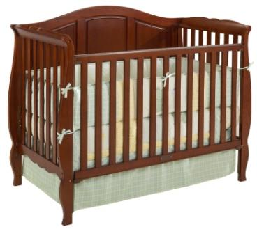 Picture of Recalled Vintage Estate 3-1 Crib - Cherry Model # DASE5009
