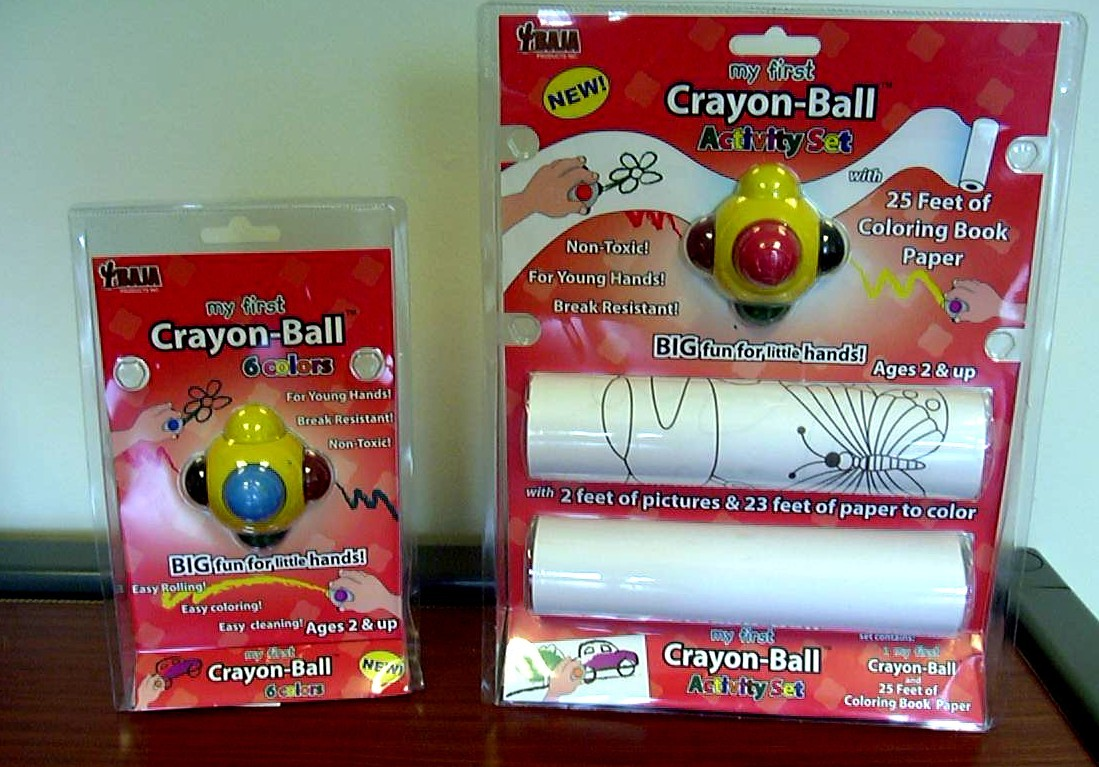 Picture of Recalled Crayon-Ball Products