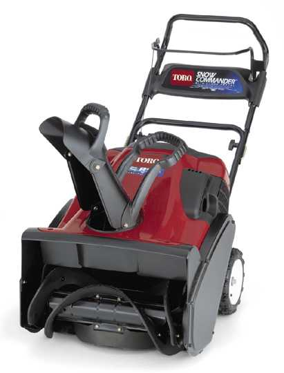 Picture of Recalled Snowthrower