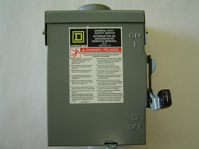 Picture of Recalled Safety Switch