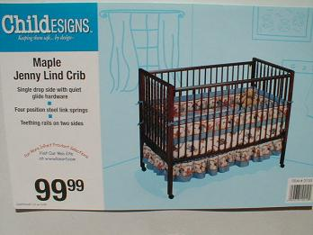 Picture of Recalled Drop Side Crib