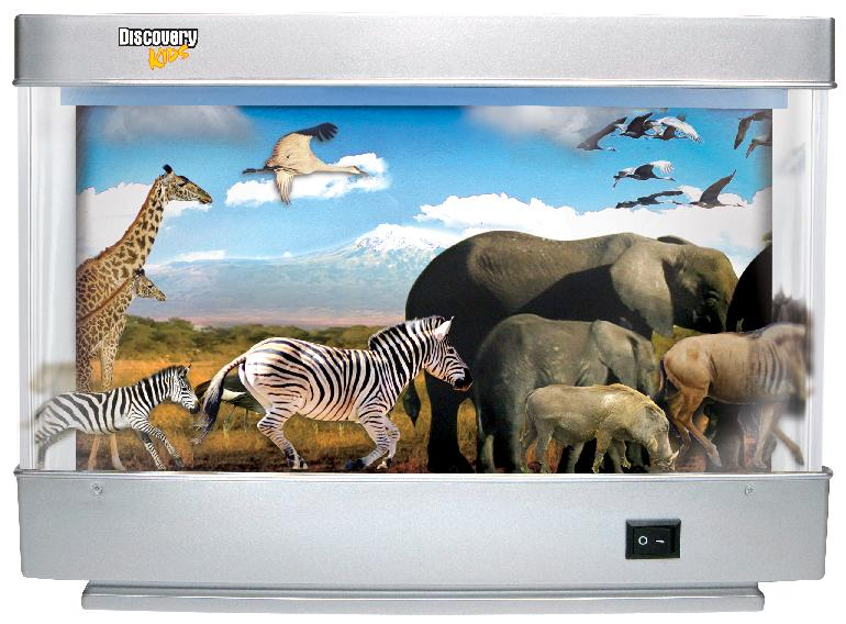 Picture of Recalled Animated Safari Lamp