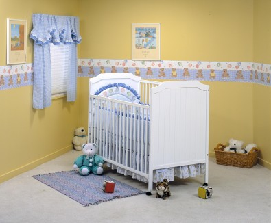 Picture of Recalled Fisher-Price logo Crystal Crib