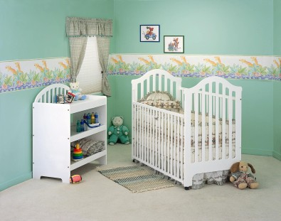 Picture of Recalled Fisher-Price logo Twinkle-Twinkle Crib
