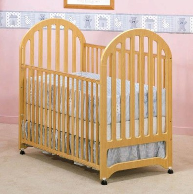 Picture of Recalled Fisher-Price logo Harmony Crib