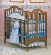 Picture of Recalled Fisher-Price logo Kirsten Crib