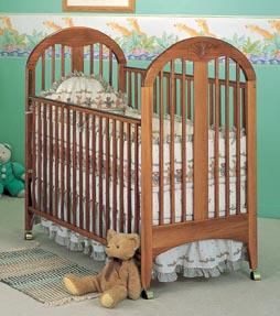 Picture of Recalled Fisher-Price logo Laura Crib