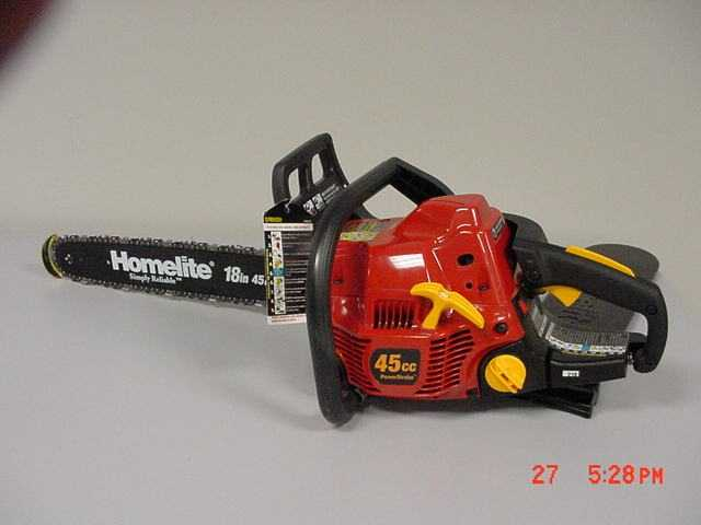 Homelite Chainsaw Remedy: contact homelite to