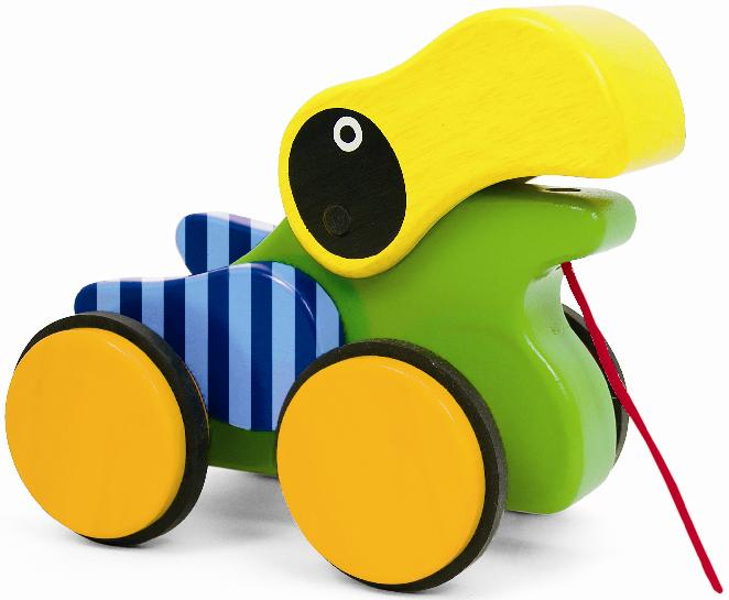 Picture of Recalled Pull-A-Long Friends Toucan