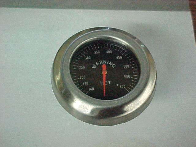 Picture of Old temperature gauge with no vent hole