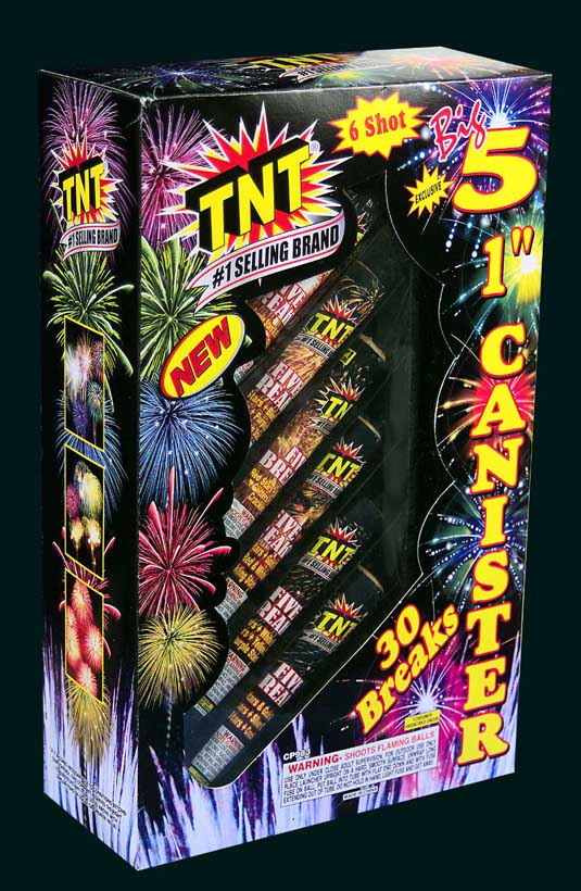 Picture of Recalled Battery Fireworks