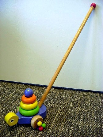 Picture of Recalled Snail Push Toy