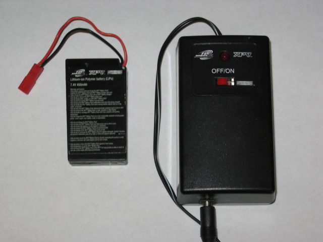 Picture of Recalled Battery Packs for Toy Vehicles