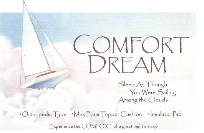 Picture of Recalled Comfort Dream Mattress Label