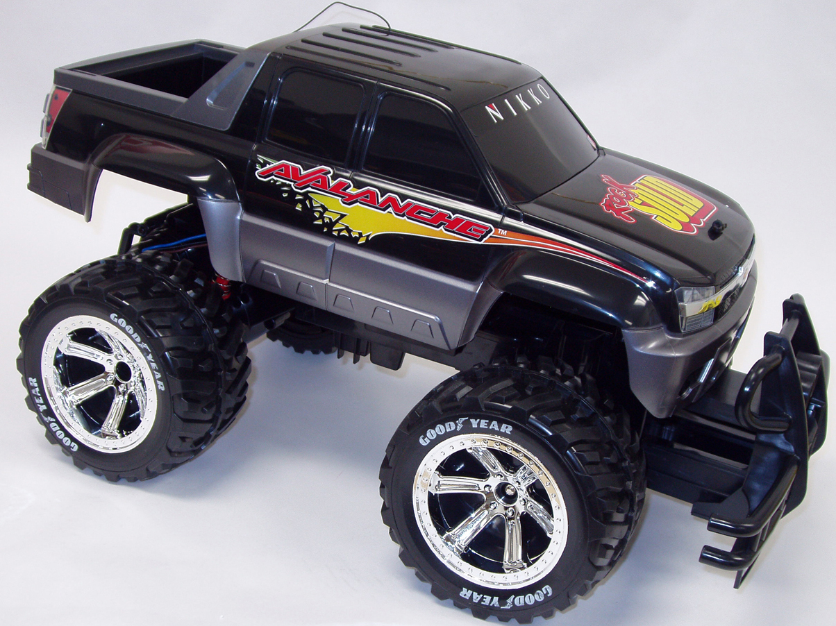 Picture of Recalled Radio-Control Toy Truck