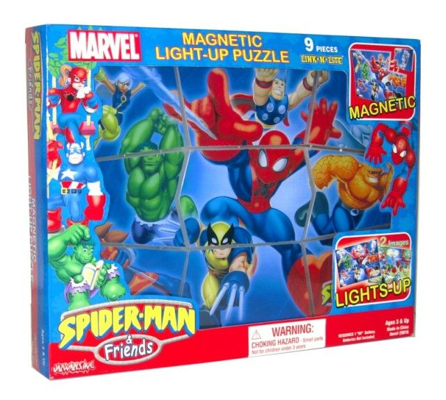 Picture of Recalled Link-N-Lite Magnetic Light-Up Puzzles