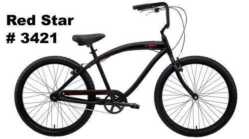 Picture of Recalled Red Star #3421 bicycle