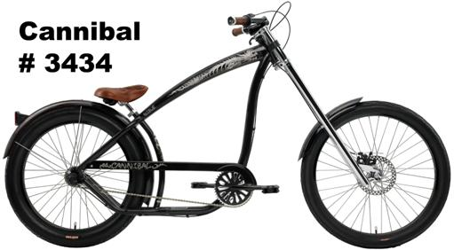 Picture of Recalled Cannibal #3434 bicycle