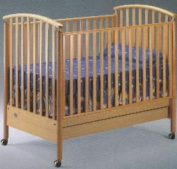 Click For Larger Image of Recalled Federica Model Number 170 Crib