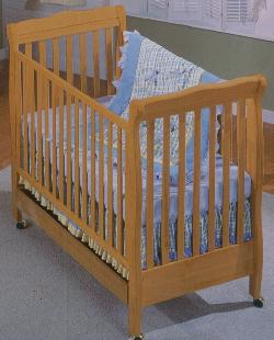 Click For Larger Image of Recalled Jackie Model Number 440 Crib