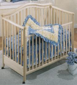 Click For Larger Image of Recalled Jessica Model Number 810 Crib